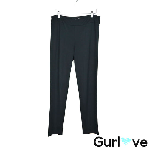 Jarbo M/L Black Straight Leg Stretch Pants