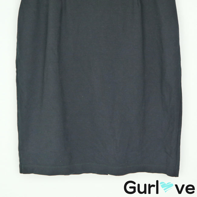Eileen Fisher Black Stretch Pencil Skirt Size S