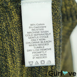 LOGO by Lori Goldstein Green Hi Low V Neck Cashmere Tunic Pullover Sweater Size XL