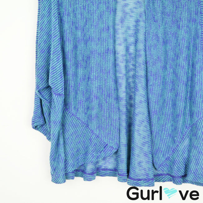 Splendid Purple Blue Knitted Cardigan Size M
