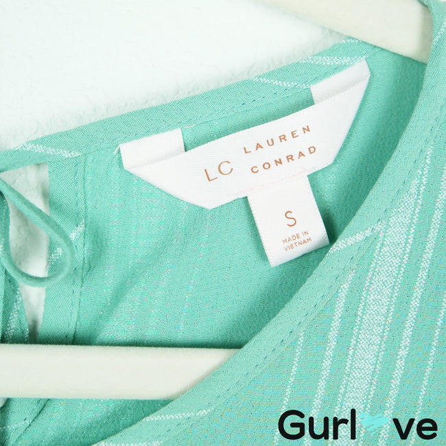 Lauren Conrad Mint Hi Lo Top Soze S