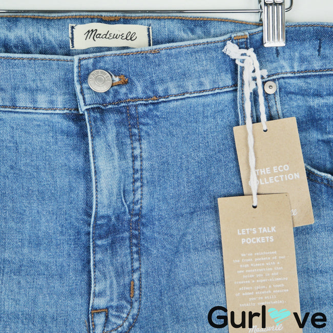 "NWT Madewell 9"" High Rise Skinny Jeans Size W 35"