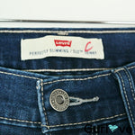 Levi's Perfectly Slimming 512 Skinny High Waist Dark Wash Jeans Size 8 M