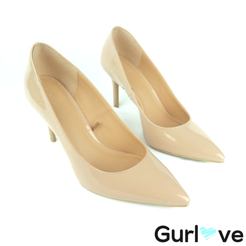 Old Navy 7 Nude Pointed Toe Pumps Heels