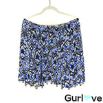 Lilly Pulitzer Size XS Beckon Blue Off Shoulder Bell Sleeve Blouse