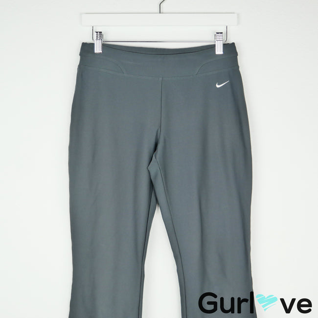 Nike Dri Fit Gray Capri Yoga Pants Size S