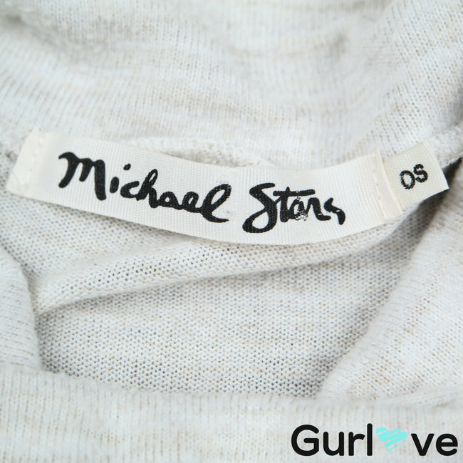 Michael Stars One Size Cowl Neck Dolman Sweater