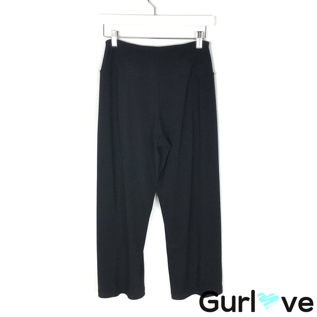 Sympli Size 4 Black Stretch Crop Pants
