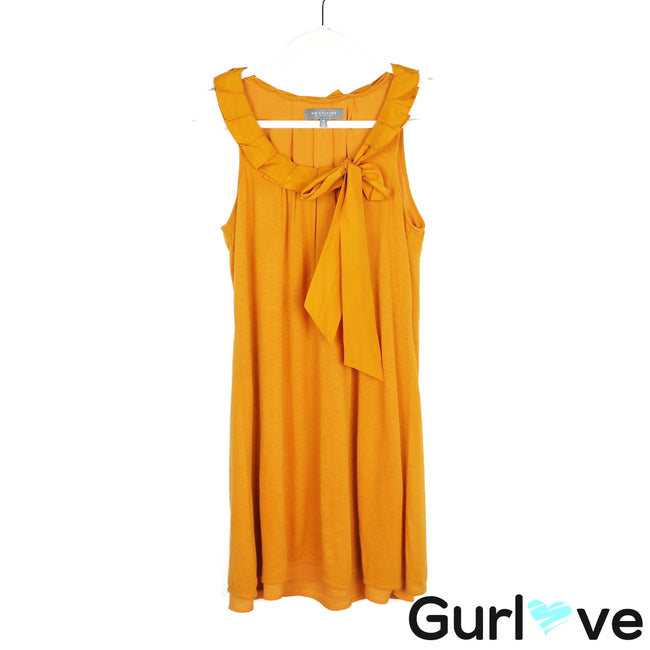 MM Couture Mustard Sleeveless Mini Dress Size S