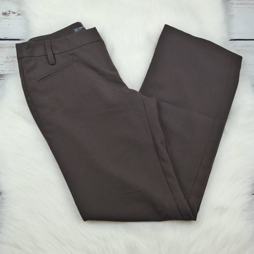 INC International Concepts Petite Brown Dress Pants Size 4P