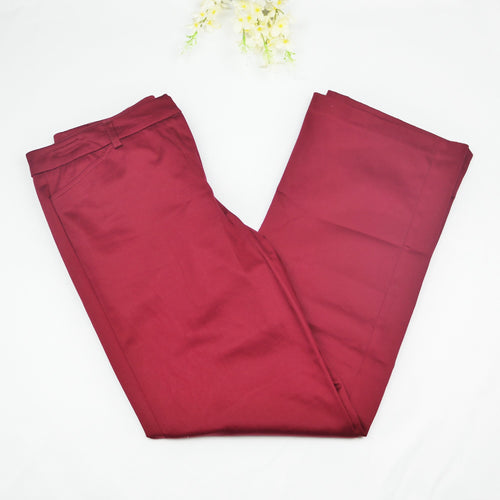NWOT New York & Co Petite Burgundy Dress Pants Size 6