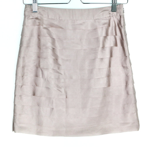Ann Taylor LOFT Taupe Skirt Size 0P