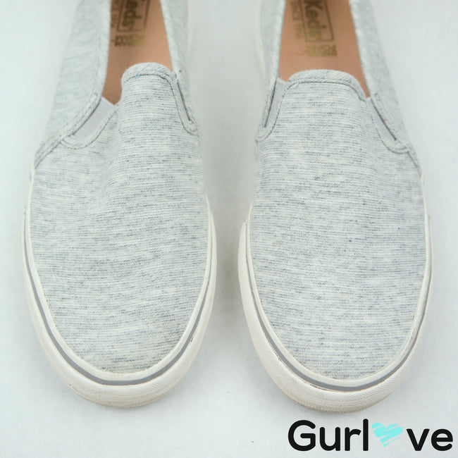 Keds Gray Slip On Sneakers Size 8.5