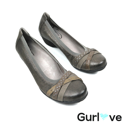 Abeo 9N Gray Nellie Shoes