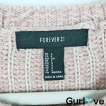 Forever 21 Old Pink Knit Chunky Sweater Size S