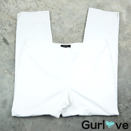 LAFAYETTE 148  NY White Dress Pants Size 14