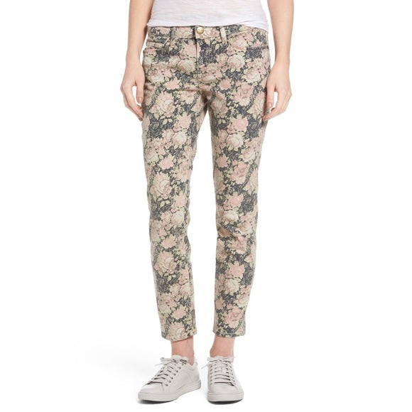 Current/ Elliot The Stiletto Phoenix Floral Skinny Jeans Size 25