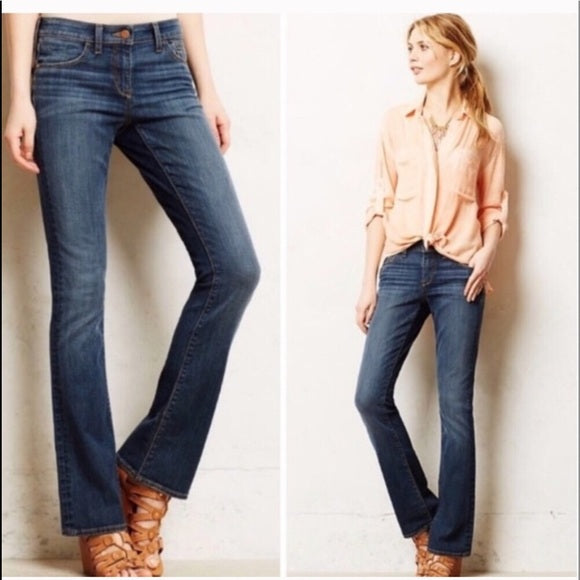 Pilcro Anthropologie Fit Stet Bootcut Jeans Size 26