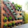 Wally Eco Charcoal Vertical Garden Wall Planter