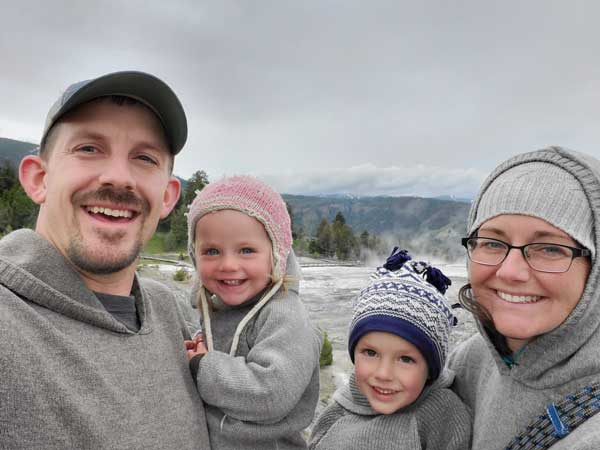 Outdoor Wool Adventures - Kids in Yellowstone