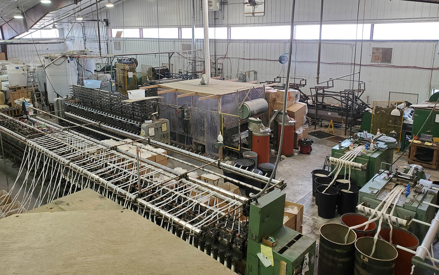 A day in the life of a wool mill operator (Ben) - where did my day go?