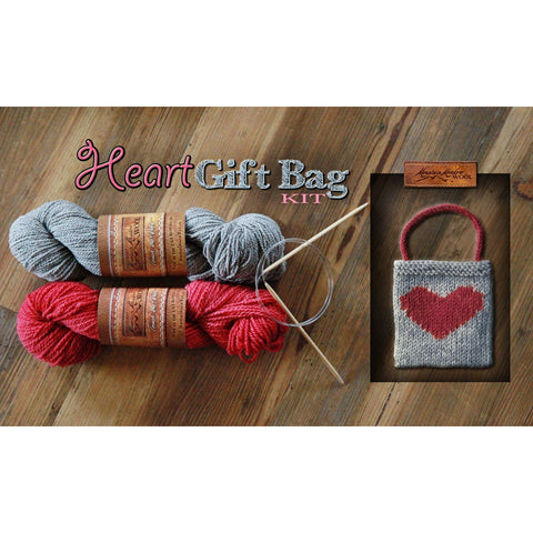 Heart Gift Bag  Mini-Kit