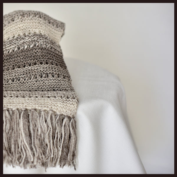 'Six Shades of Grey' Scarf Knitting Kit