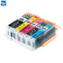 10 PGI-550 Compatible ink Cartridge for Canon Pixma IP7250 MG5450 MX925 MG5550 MG6450 MG5650 MG6650 IX6850 MX725 MX925 printer