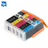10 x 470 471 PGI-470 CLI-471 compatible ink cartridges For CANON  MG5740 MG6840 MG7740 TS5040 TS6040 TS8040 TS9040 printer