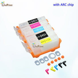 10SETS  PGI-425 CLI426  refillable Ink cartridge for canon MG5240 MG5140 MG6140 MG8140 IP4840 MX884 IX6540printer pgi 425
