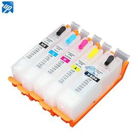 10SETS PGI-550 pgi550 refillable ink cartridge for Canon IP7250 MG5450/MG5550/MG5650/MG6450/MG6650;MX725/MX925 IX6850 printer