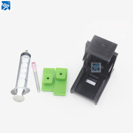 10sets Ink Cartridge Clamp  Pumping refill tool for HP 21,22 60 61 56 57 74 75  901 121 300 PG40 for Lexmark 26 16