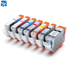 14 ink cartridge PGI-5BK CLI-8 BK/C/M/Y/PC/PM for Canon Pixma iP6600D iP6700D M960 MP970 Print