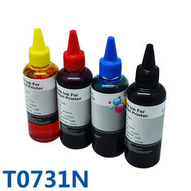 400ml T0731N Refill Ink Kit Bulk Ink For Printer For Epson Stylus CX7300 CX8300 TX210 C79 C90 CX3900 CX3905 CX3905 CX4900 CX49