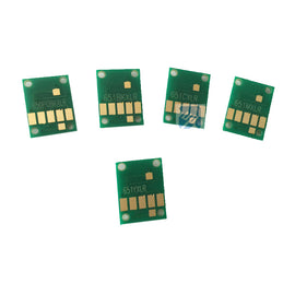 5PCS ARC CHIPS For CANON  IP7260 MG5460 MG5560 MG6460 MX726 MX926 IX6860 pgi 650 auto reset chip PGI-650 CLI651 pgi650