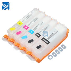 5PCS PGI-270 CLI-271 270 271 refillable ink cartridges For canon MG5720 MG5721 MG5722 MG6820 MG6821 MG6822 TS6020 TS5020 PGI270