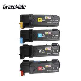 Color Toner Cartridge For Fuji Xerox Phaser 6140 6140n 6140dn Laser Printer 106R1480 106R1484 Toner