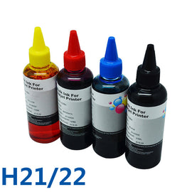 For HP21 22 Printer Ink & Bulk Ink Refill Kit For HP Deskjet 3915 3920 D1530 D1320 D1311 D1455 F2100 F2280 F4100 F4180 Printer