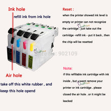 LC223 refillable ink cartridge for brother DCP-J562DW MFC-J480DW J680DW  J880DW MFC-J5320DW MFC-J5625DW printer with ARC chip