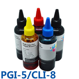 PGI5 CLI8 Refill Ink CISS Bulk Ink For Printer For Canon PIXMA IP4200/IP3300/IP4500/IX4000/IX5000/IP4300/MP970/IP5300/Pro9000
