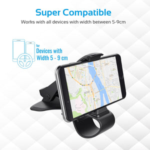 HelectroniC Support Universel Mains Libres Anti-Distraction Pour Smartphone et Tablette ezGrip-2 | PROMATE