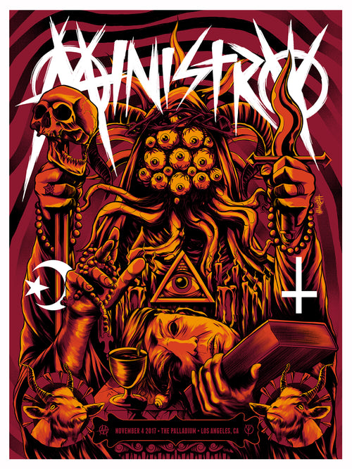 Ministry - Hollywood Palladium