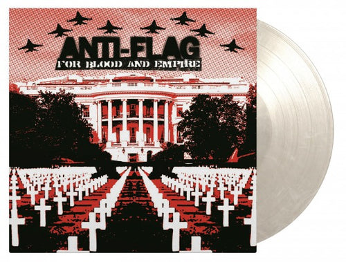ANTI FLAG -  FOR BLOOD & EMPIRE (180G/WHITE MARBLED VINYL)
