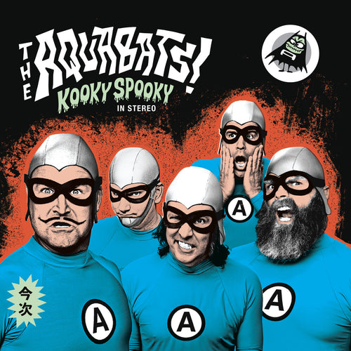 The Aquabats - KOOKY SPOOKY...IN STEREO! (GLOW IN THE DARK VINYL/POSTER)