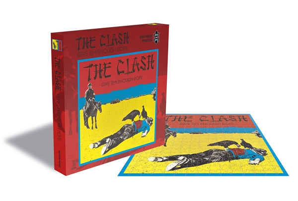 CLASH, THE GIVE EM ENOUGH ROPE (500 PIECE JIGSAW PUZZLE)