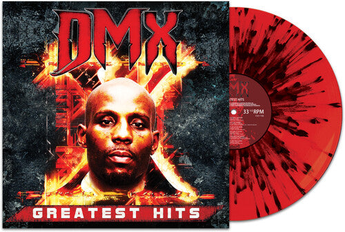 DMX - Greatest Hits (Red w/Black Splatter Vinyl)