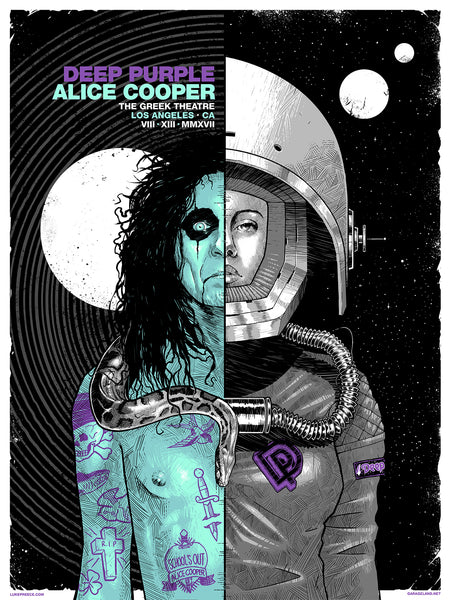 Alice Cooper / Deep Purple - Greek Theatre