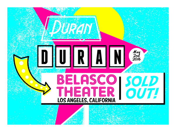Duran Duran - Belasco Theater