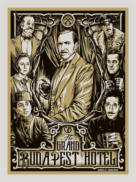 The Grand Budapest Hotel - Foil