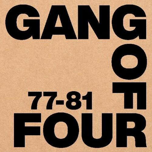 GANG OF FOUR - 77-81 (BOX SET-5LP/CASSETTE/BOOK)